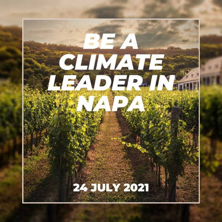 Be a climate leader in Napa
