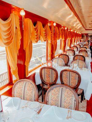 Napa Valley Wine Train, Napa Valley, California, USA